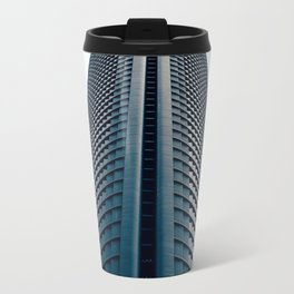 Skyscraper in Madrid Travel Mug