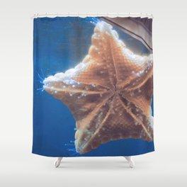 Starfish says hello Shower Curtain