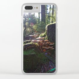 Among The Trees Clear iPhone Case