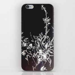 Lonely Bud Invert iPhone Skin