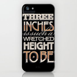 Wretched Height iPhone Case