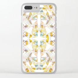 Micah Mirror Clear iPhone Case
