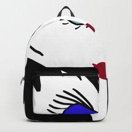 Caricature of a Teacher - Miss Jones Backpack