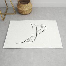 Hug - Line Art Rug
