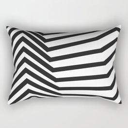 Scandinavian Minimal Line Art Rectangular Pillow