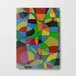 Abstract #94 Metal Print