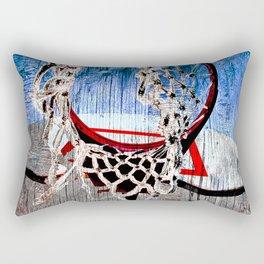 Basketball art print 170 Rectangular Pillow