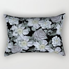 Roses at Night Rectangular Pillow