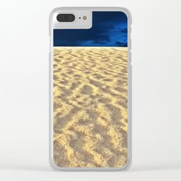 White Sands XII Clear iPhone Case