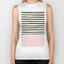 Bubblegum x Stripes Biker Tank