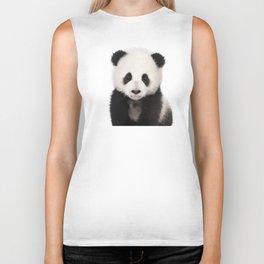 Panda Cub Biker Tank