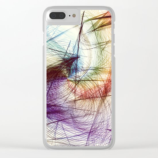 Weave IV Clear iPhone Case