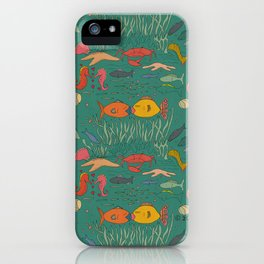 Fishy Kisses iPhone Case