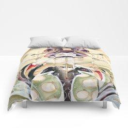 Mustachioed Oiran  Comforters
