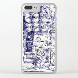 Stem Ciders Clear iPhone Case