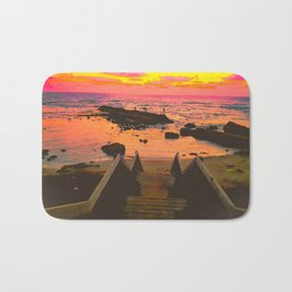 You Never Have To Chase What Wants To Stay. Bath Mat