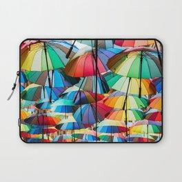 Under My Umbrellas Laptop Sleeve