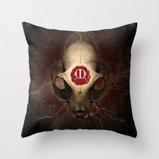 Poster Maldoror Throw Pillow