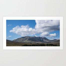 Irish Mountains Art Print