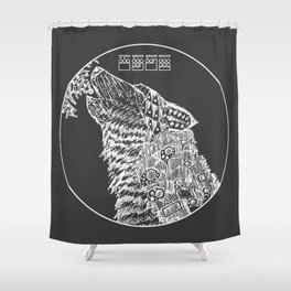 The Howling - Light Variant Shower Curtain