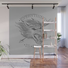 Everything is Fine Wall Mural