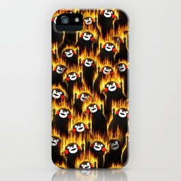 Infernal bears party iPhone Case