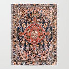 Djosan Poshti West Persian Rug Print Poster