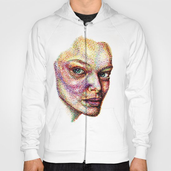 Face Pointed Out Hoody