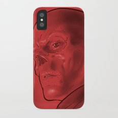 The Red Skull Slim Case iPhone X