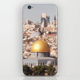 Temple Mount, Old City of Jerusalem, Israel iPhone Skin