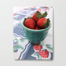 Berry Nice Metal Print