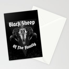 Black Sheep Of The Family Stationery Cards