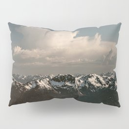 Alaska Snow Capped Mountains Pillow Sham