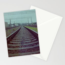 Railroad. Russia. Stationery Cards