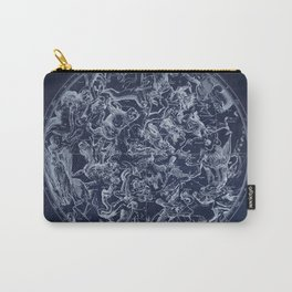Vintage Constellations & Astrological Signs | White Carry-All Pouch