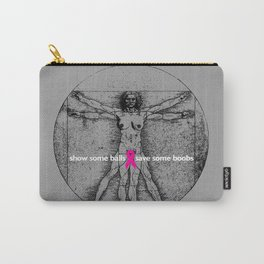 vitruvian mammary Carry-All Pouch