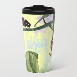 Love bugs in the garden Travel Mug