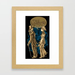 Coattails Framed Art Print
