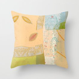 Small Calm Place Throw Pillow