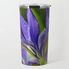 Purple iris beauty Travel Mug
