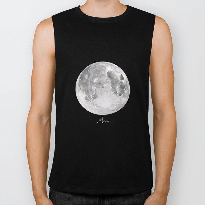 Moon #2 Biker Tank