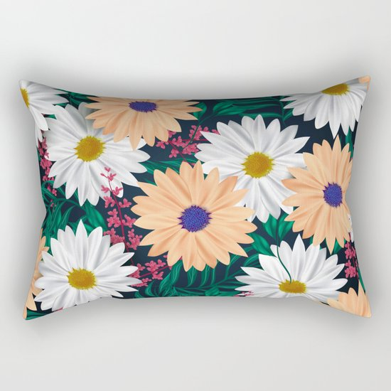 Daisies Rectangular Pillow