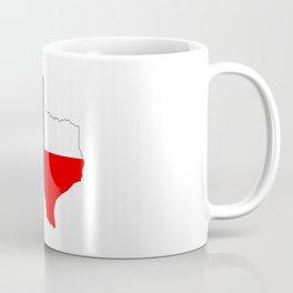 texas flag map Coffee Mug