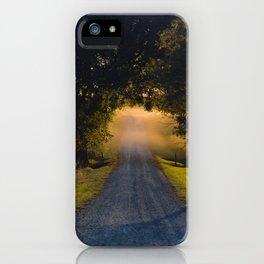 Best Farm Tree Sunset 1 iPhone Case