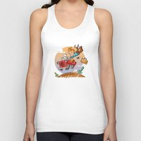 tintin Tank Tops featuring Tintin and Snowy! by Ana Xoch Guillén