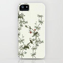 Pimpernel climbs iPhone Case