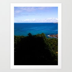 Blue and Sky Art Print