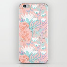 Lotus + Papyrus Garden iPhone Skin