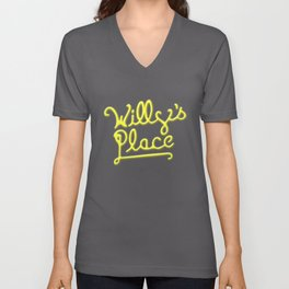 Willy's Place Unisex V-Neck