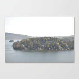 Deep Cove Canvas Print